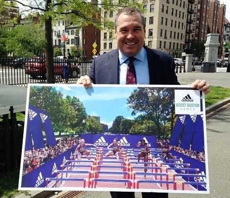 RunnersWeb : (RRW) Athletics: adidas Boost Boston Games Bring Olympic Hype to Hub
