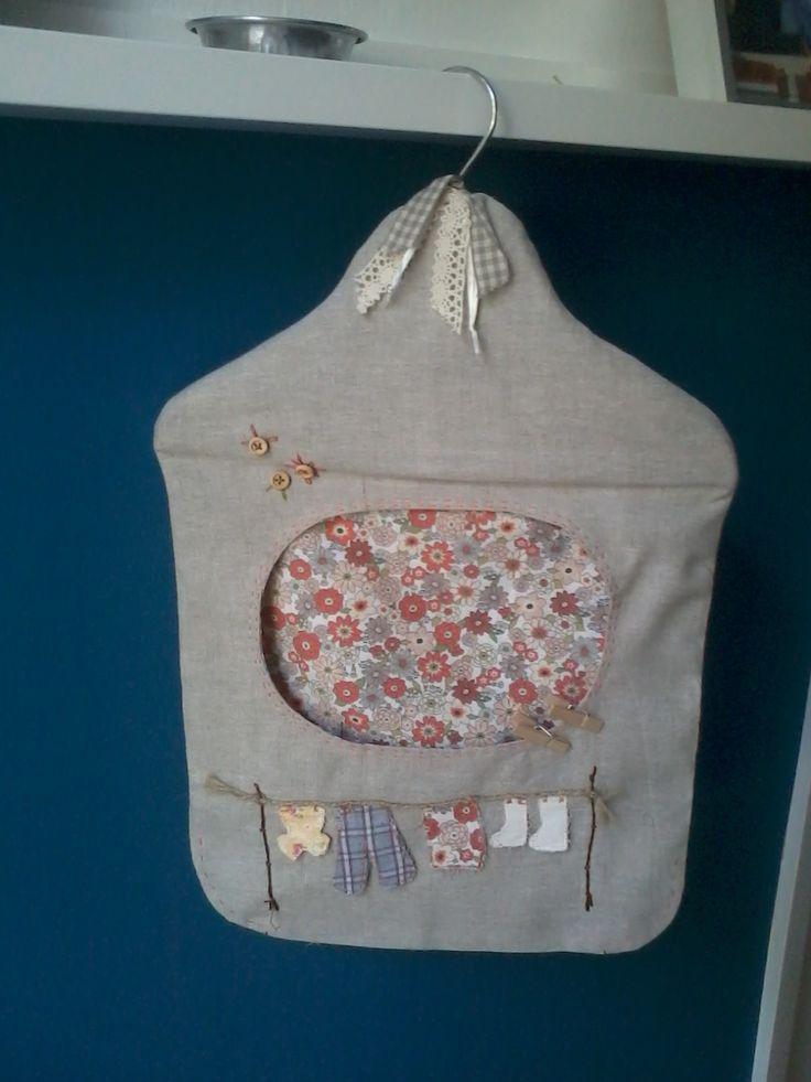 Manualidades - bolsa pinzas de la ropa