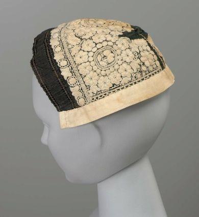 Woman's hat, 1830–40. Sarkoz, Hungary