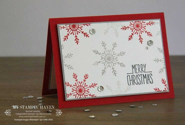Tin Of Tags, Better Together Xmas card #MyStampinHaven #StampinUp #HolidayCatalogue2016