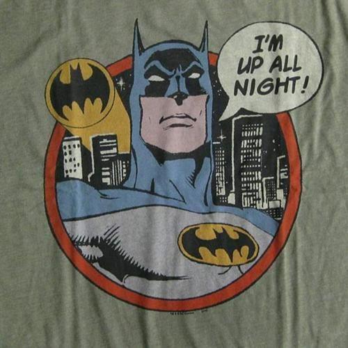 """""""I'm Up All Night!"""" Batman T-Shirt"""