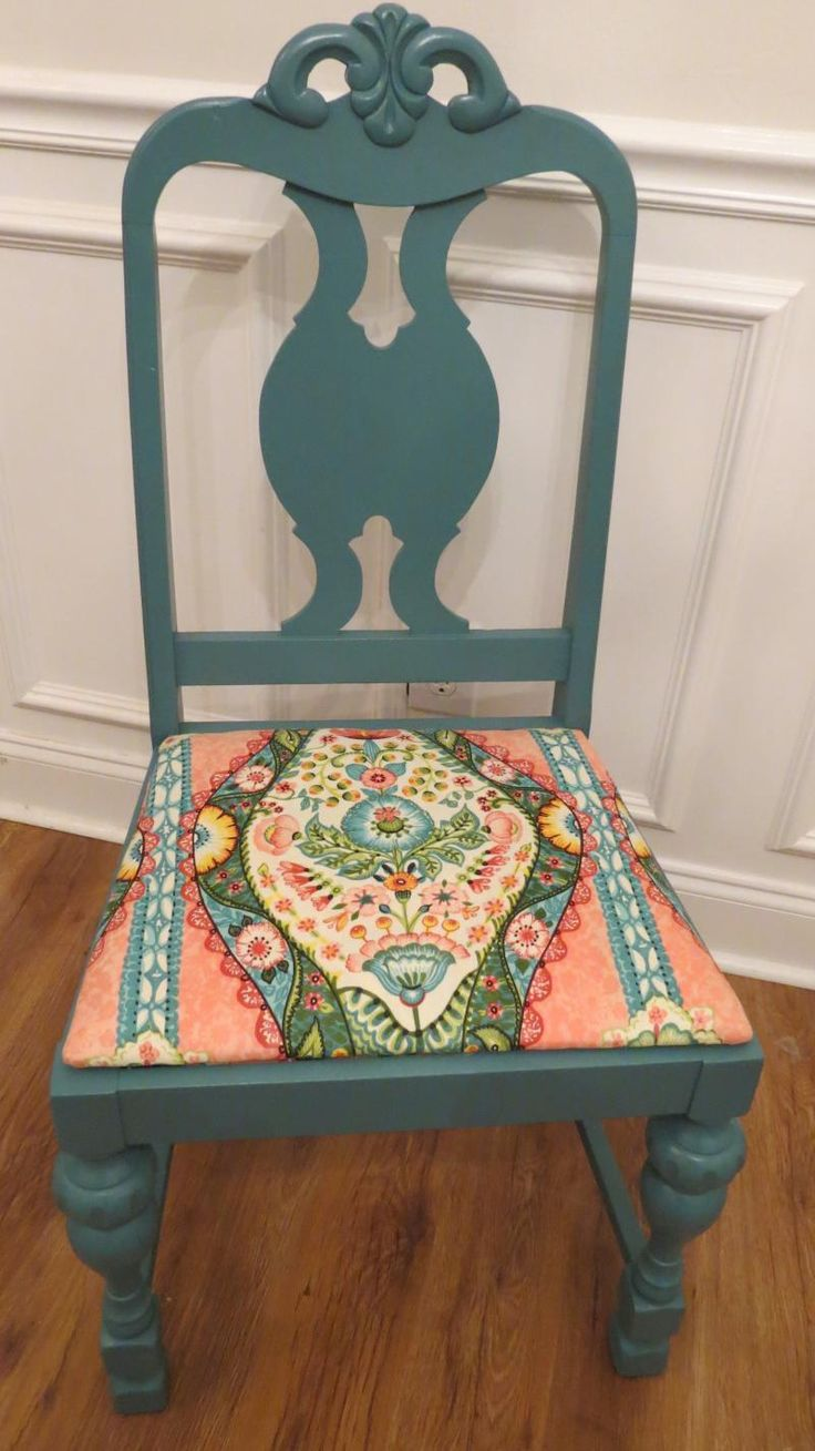 Top hat chair light blue furniture realm - Chrissie S Collection Custom Painted Furniture