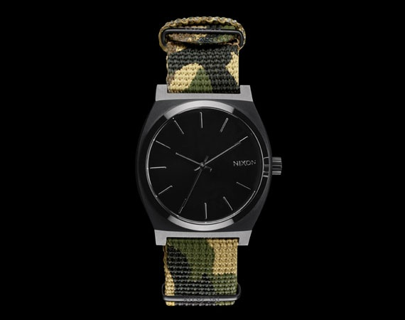colette x Nixon Time Teller Camo Watch  http://www.marsportmall.com/products.php?name=watch_search=1