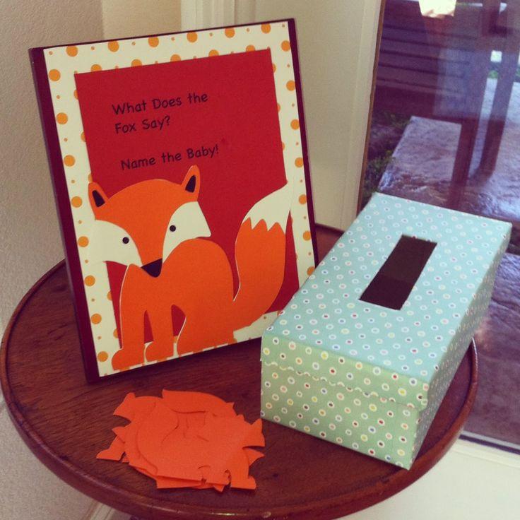 Do Baby Showers Have Wishing Wells ~ Las mejores ideas sobre baby showers zorro en pinterest