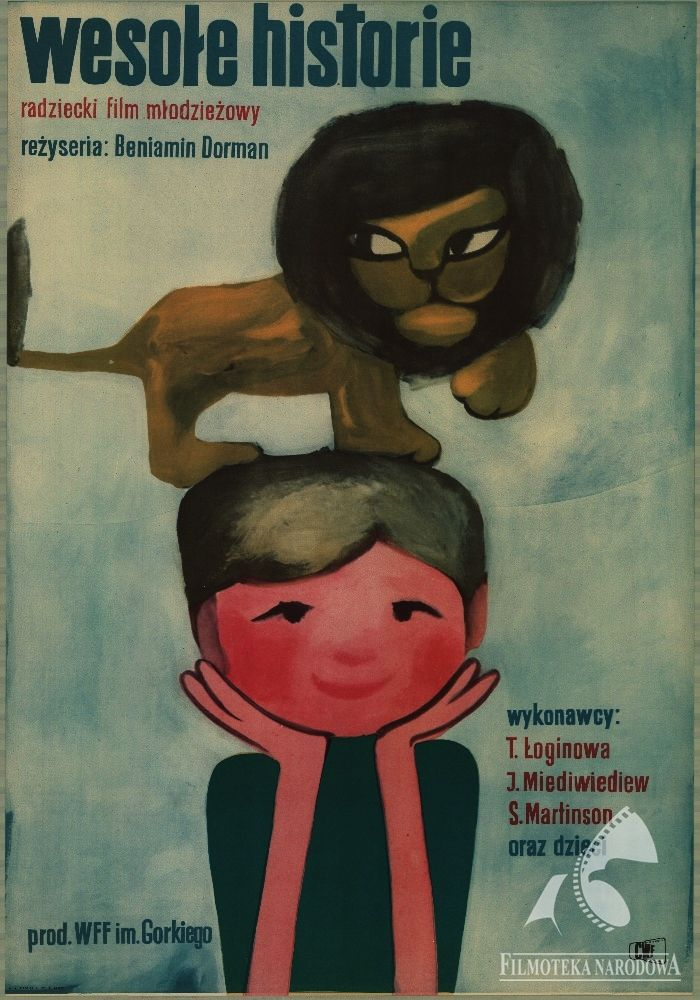 Cute or wild? Polish posters: WESOŁE HISTORIE - 1962