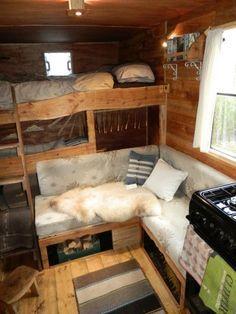 ford transit luton camper - Google Search