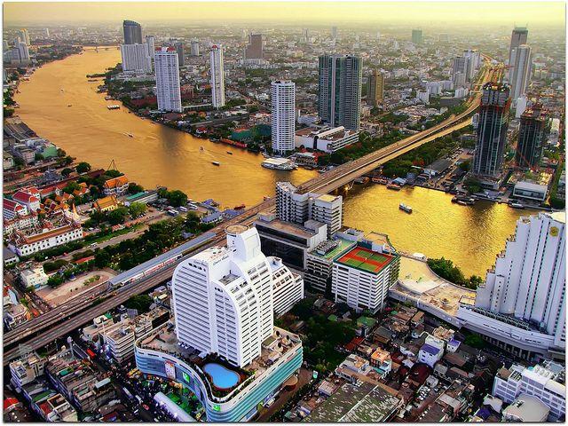 River of Gold | Bangkok by I Prahin | www.southeastasia-images.com, via Flickr