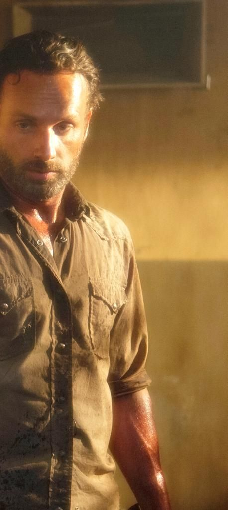 As Rick Grimes (The Walking Dead)                                                                                                                                                                                 More