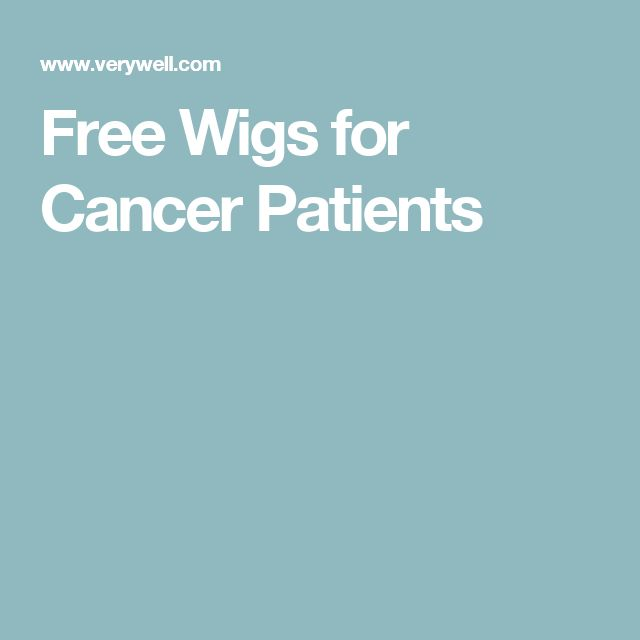 Free Wigs for Cancer Patients
