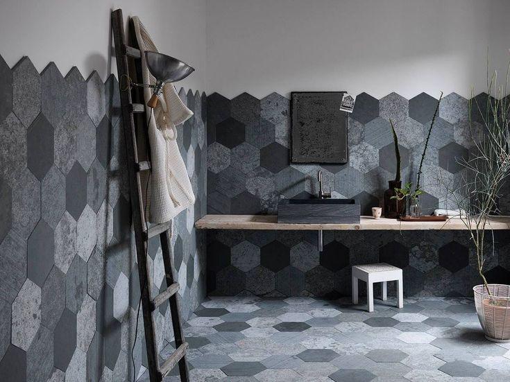 AZUL ORIGAMI Rivestimento in pietra naturale by ARTESIA® / International Slate Company