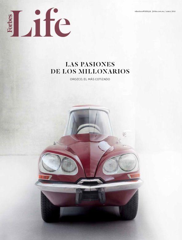 Forbes Life abril completamente gratis.