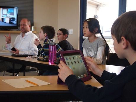 This article by educator Andrew Miller gives several strategies for engagement in the blended classroom.