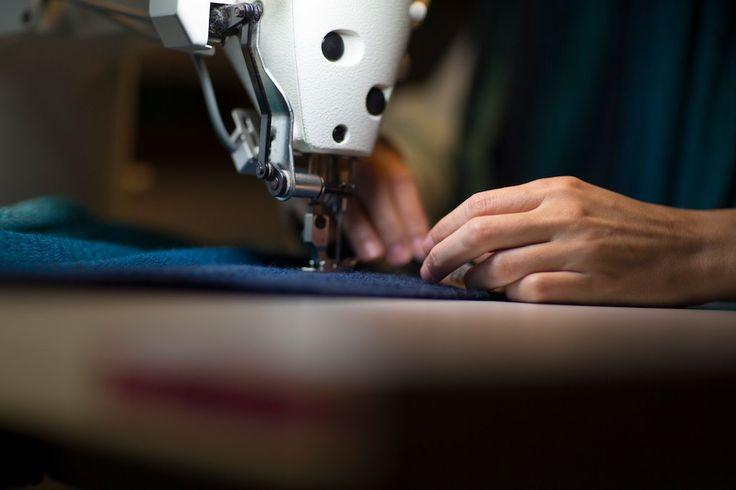 It's all in the final details | McKernan Woollen Mills | Handmade in Ireland | Irish Design | Weaving | Knitting | Pattern | Textiles | Co. Clare