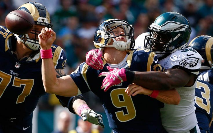 Eagles beat Rams behind defense, special teams Football