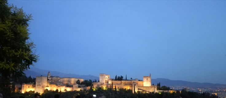Alhambra Granada Spain Mirador de San Nicolas