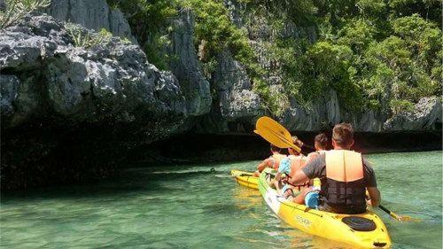 Samui around the island boat