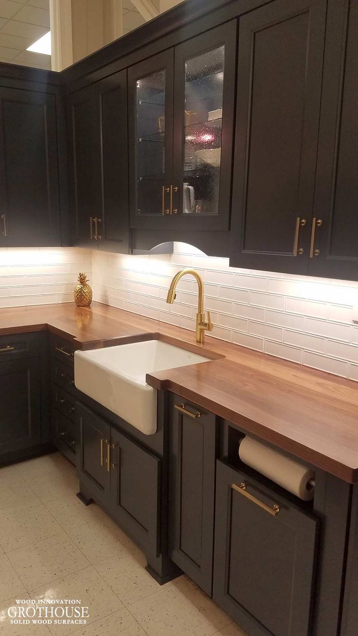 80 Best Flat Grain Wood Countertops Images On Pinterest