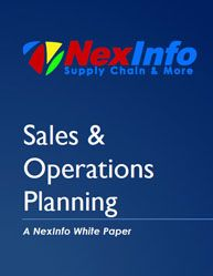 Sales and Operations Planning Process in Supply Chain	 [[ Companies that have adopted Sales and Operations Planning (S&OP) processes are gaining the visibility and agility to improve supply chain and demand matching,  ]]