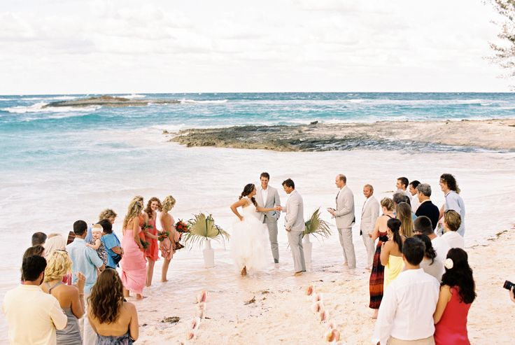 Intimate Bahamas Destination Wedding  Read more - http://www.stylemepretty.com/2014/03/21/intimate-bahamas-destination-wedding/