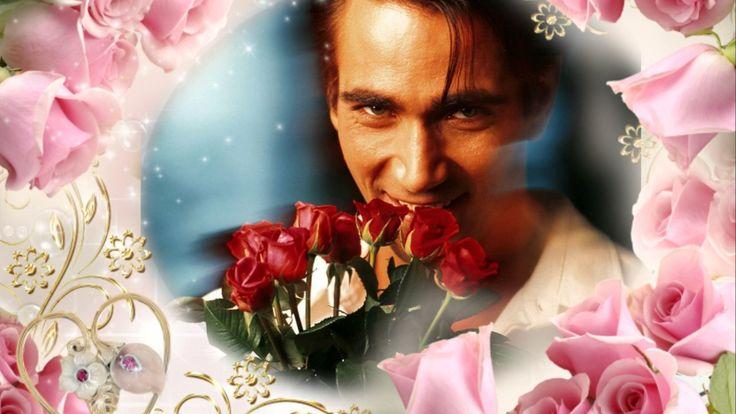 С Днём рождения Очень красивое поздравление Розы красные, розы белые