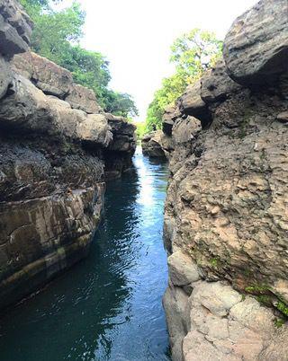 Los Cangilones de Gualaca, Boquete, Panama