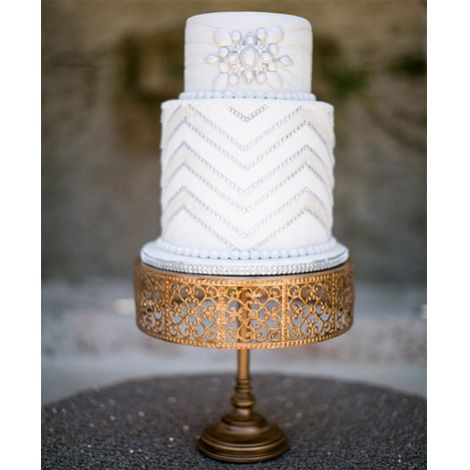 12 inch, 10 inch & 8 inch gold cake stands.  Over 25 different cake stands available to hire / rent.  The Cake Lab Bakery, Ranelagh, Dublin, Ireland. Artisan Baking Studio.