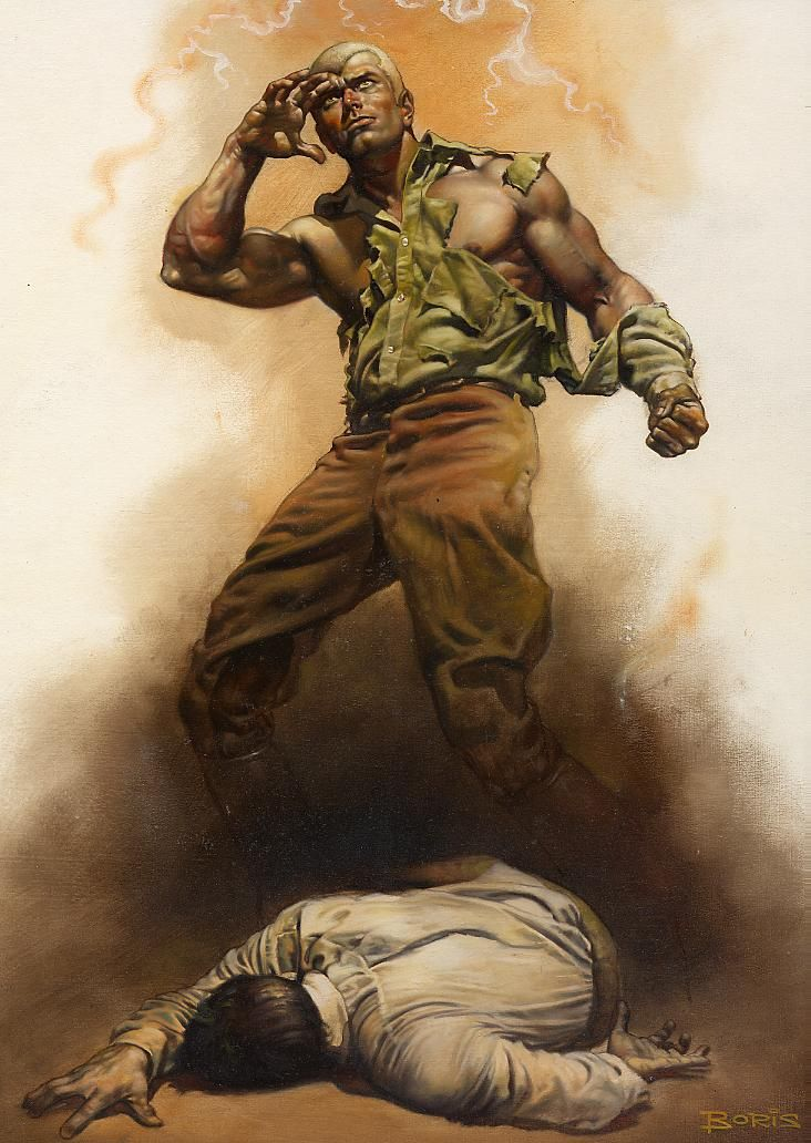 Beautiful The Boss of Terror Doc Savage Boris Vallejo