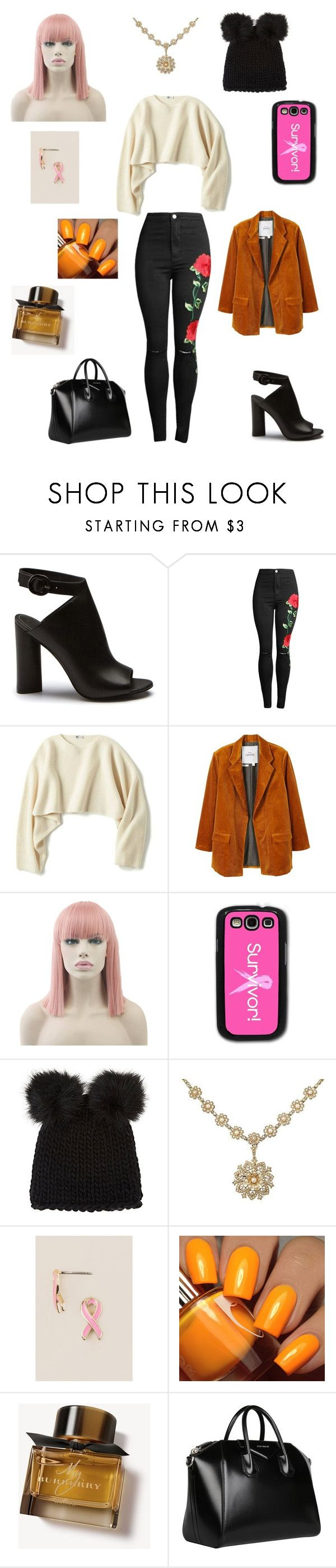 """Sans titre #2608"" by amandine-collet on Polyvore featuring mode, Uniqlo, MANGO, Samsung, Barneys New York, Francesca's, Floss Gloss, Burberry et Givenchy"