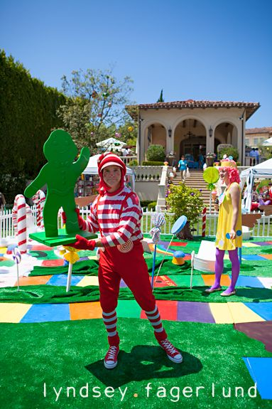 Candyland-Party - I would have loved to have been invited to this party!
