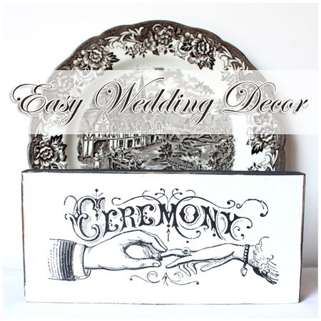Make some cute Typography Wedding Signs - Graphics Fairy - DIY