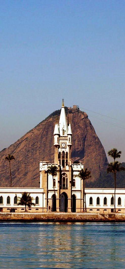 Ilha Fiscal Castle, Rio de Janeiro, Brazil