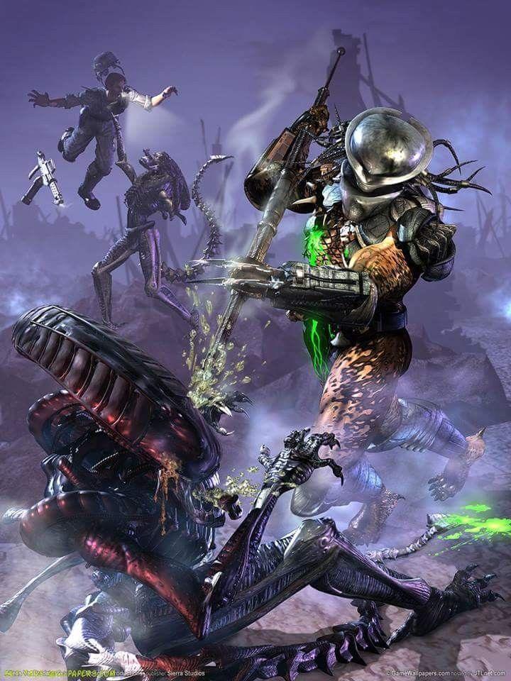 Pin on Alien Vs Predators