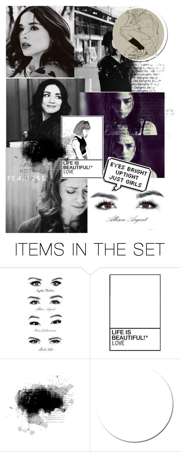 """Teen Wolf-Allison Argent"" by beck-bows-and-ribbons ❤ liked on Polyvore featuring art"