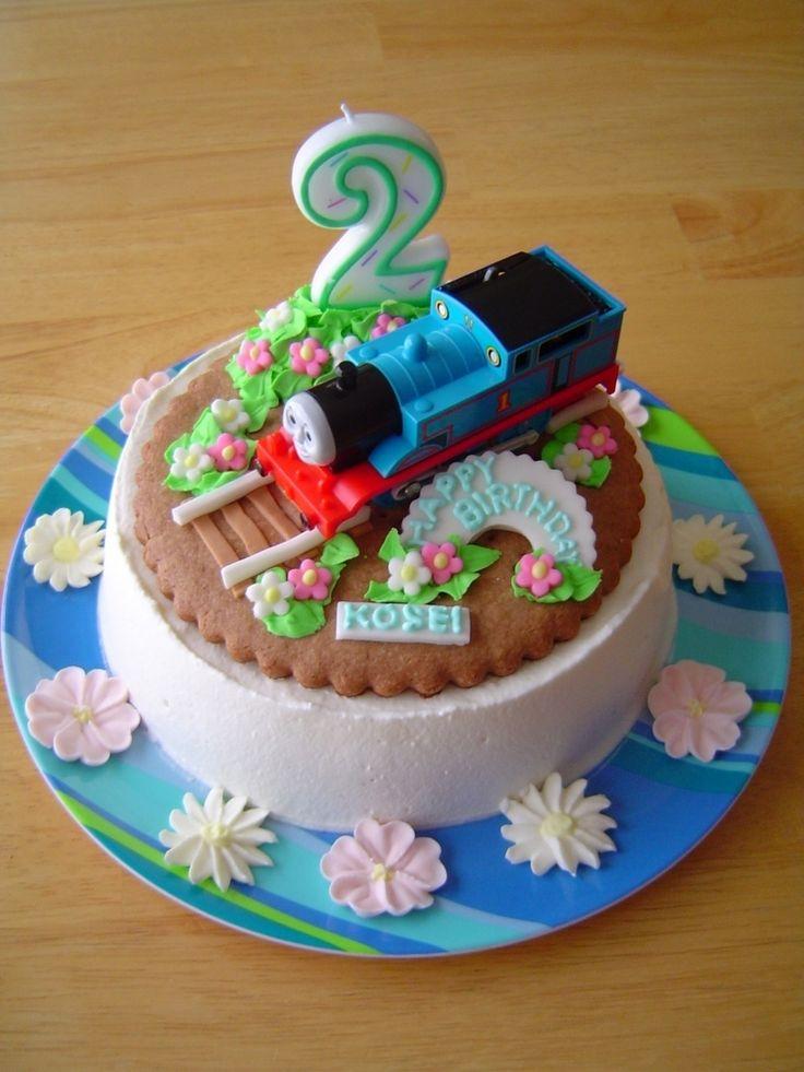 祝2歳 トーマスのバースデーケーキ by aya#2 [クックパッド] 簡単おいしいみんなのレシピが225万品