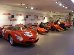 The Ferrari has an amazing history. Photo by: Marie, MPG Narratives