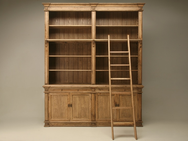 bookcaseStyle Bookcases, Home Libraries, Dreams, Minis Libraries, Libraries Style, Oak Libraries, Bookcases W Ladders, Bookcas W Ladders, Bookcas Wladder