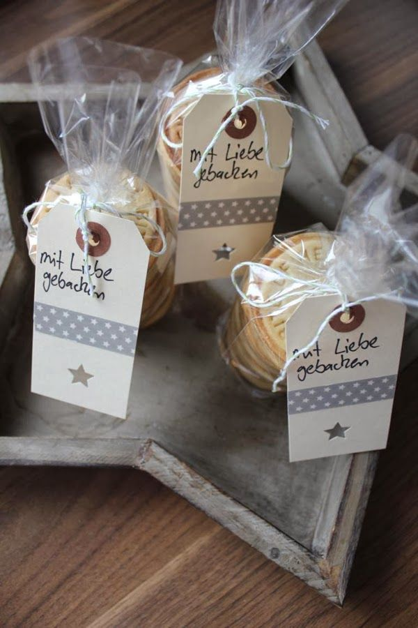 zweimalB :: Weihnachtsgeheimnisse: Fräulein Ordnung :: hübsch verpackte Kekstüten, mit Liebe gebacken