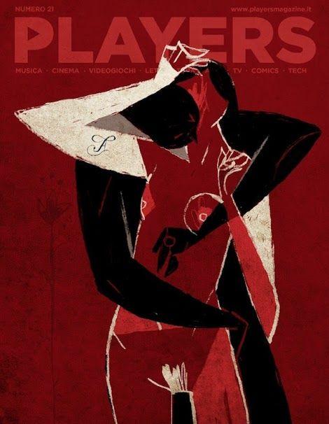 """illustrazione di copertina per """"Players Magazine"""" - illustrazione digitale"""