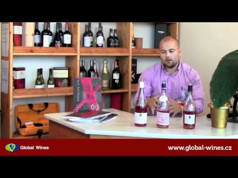 Video degustace 3: Růžová vína (Rosé)