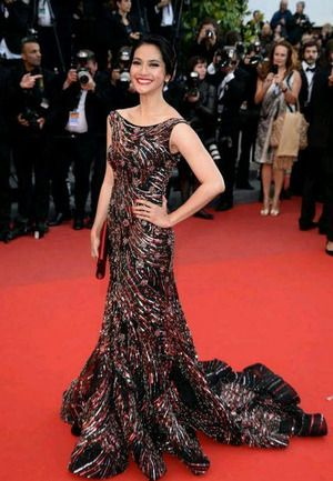 Maudy Koesnaedi at Cannes Film Festival 2013