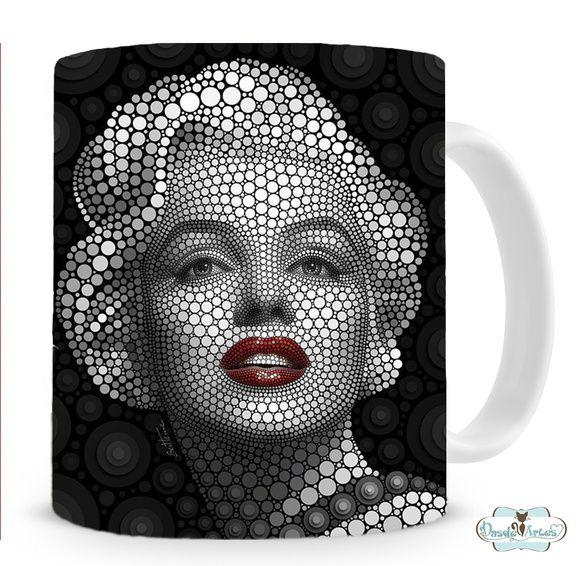 Caneca Marilyn Monroe 2
