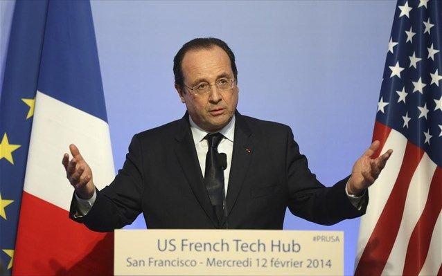 Σίλικον Βάλεϊ: Πρόσκληση Ολάντ για επενδύσεις στην Γαλλία -  Την άμεση λήψη μέτρων -ήδη από τον επόμενο μήνα- για την προσέλκυση επενδύσεων στον τομέα της καινοτομίας στη  Γαλλία  και την ενθάρρυνση των νέων επιχειρηματιών υποσχέθηκε ο Φρανσουά Ολάντ κατά την επί�
