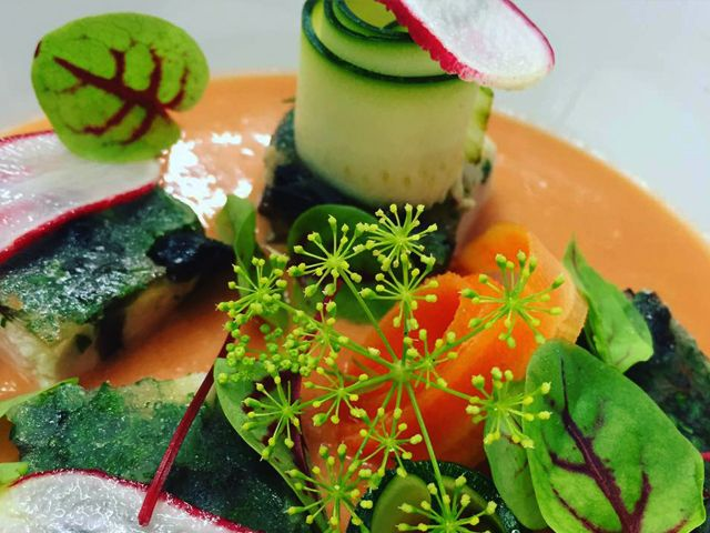 Restaurant romantique Chalon sur Saone - L'aromatique