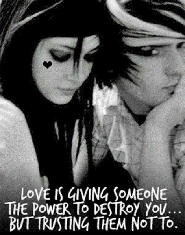 Emo Love Quotes Interesting 11 Best Emo Love Quotes Images On Pinterest  Emo Love Quotes