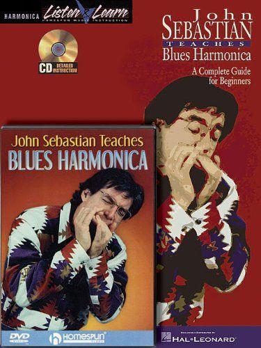John Sebastian Harmonica Bk/CD/DVD (Harmonica Listen & Learn)