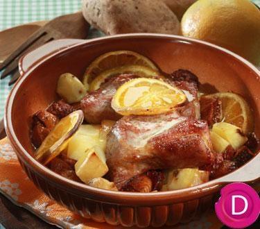Christmas Pork with orange | Dina Nikolaou