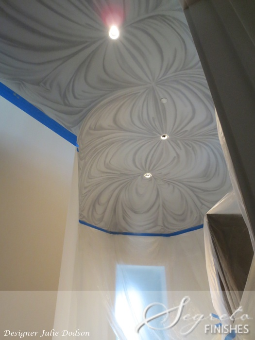36 best images about faux finishes on pinterest marble for Ceiling mural painting techniques