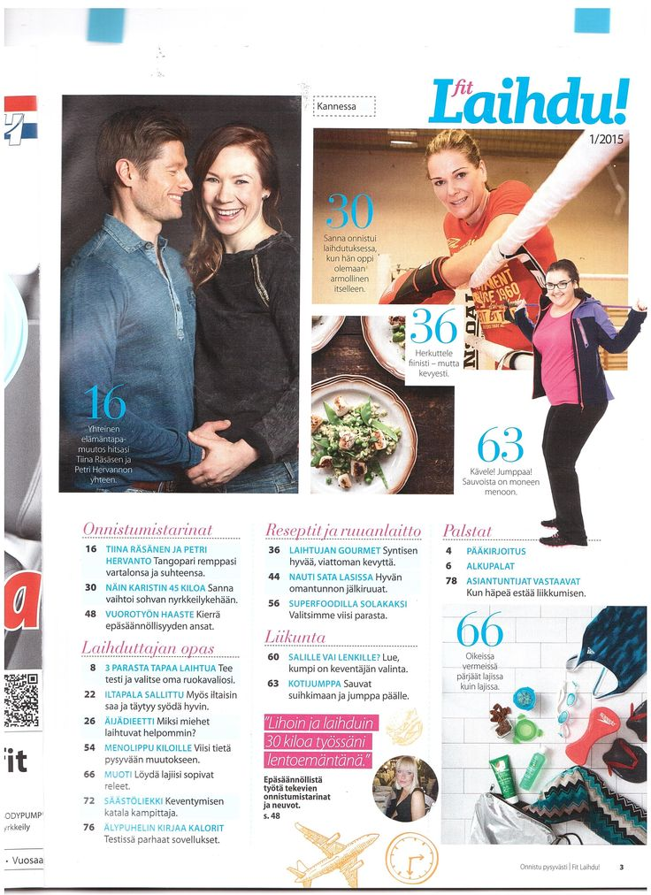 Wean Green at FIt Laihdu Magazine Finland 1 2015   www.bigsmallcompany.com