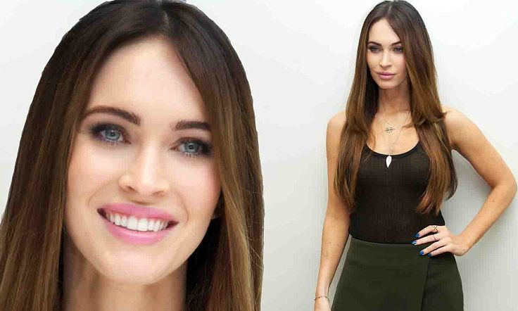 Megan Fox displays her figure and glowing complexion at press event