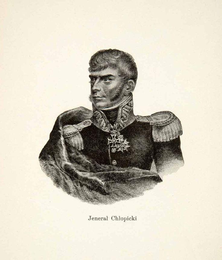Gen Jozef Chlopicki Portrait Polish Army Napoleonic Wars